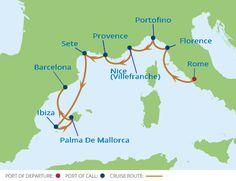**Celebrity Cruise 9 nights Western Mediterranean**