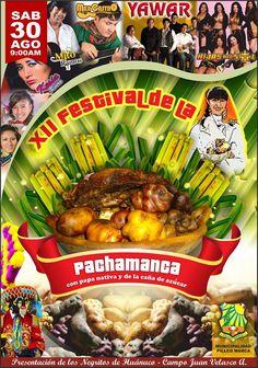 XII Festiva de la Pachamanca en Pillco Marca