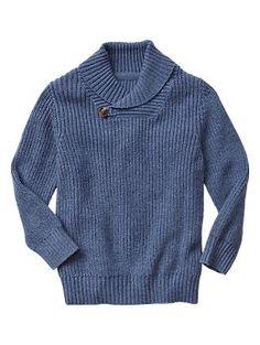 Knit shawl sweater | Gap
