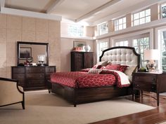 """WASHINGTON""S FAVORITE FURNTIURE STORE SINCE 1955!"" Marlo Furniture - Rockville 725 Rockville Pike Rockville, MD 20852 301-738-9000 www.marlofurniture.com #MaterSuite #Bedroom #Master #MarloFurniture #Rockville #Maryland #Furniture #Mattresses #Home #Decor  #Intrigue"