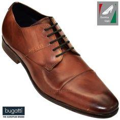 Bugatti férfi bőr fékcipő 311-29404-1100-6300 konyak