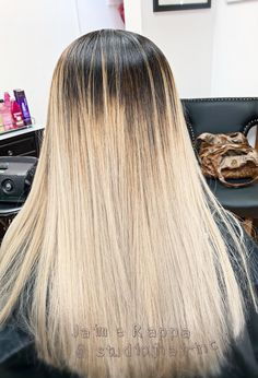 Ombre from darkest to lightest Hair Color Experts, Color Correction Hair, Best Hair Salon, Wedding With Kids, Hair Studio, Cool Hair Color, Her Hair, Light In The Dark, Bridal Hair