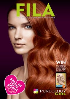 Check out FILA our interactive E Magazine. A sister product range of Redken is the Beautiful Pureology have a look. Check out all the How To Hairdressing videos and lots Redken Hair Color, Redken Hair Products, Falling In Love Again, Hair Magazine, Brand It, About Hair, Hairdresser, Compliments, Latest Fashion