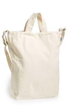 Baggu  'Duck Bag' Canvas Tote available at #Nordstrom\ I want it in Chestnut!