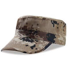 Mens Army Baseball Military Cap Hiking Hat Summer Camping Camouflage  Fishing Tactical Hat Desert tactical cap 535309b9fa8f