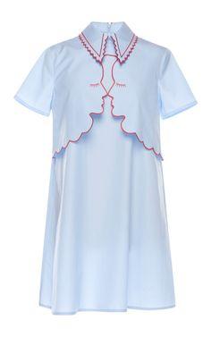Poplin Dris Dress by Vivetta for Preorder on Moda Operandi