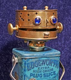 EDGEWORTH - Found Object Robot