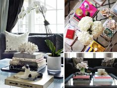 Coffee Table Styling - I think I already pinned this, but need to actually read it someday soon.
