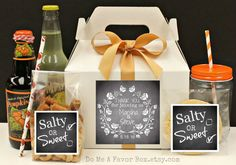 Out Of Town Wedding Welcome Box 6 Wedding by DoMeAFavorBox