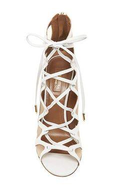 aquazzura french lover suede sandal