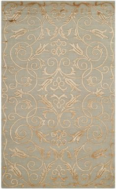 TB417D Rug from Tibetan collection. Make any room stand out with this beautiful rug from the artisans at Safavieh. Warm hues of earth tones play off each other to produce an heirloom-quality piece with a luxuriously rich surface.