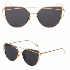 •Oversized black/gold mirrored sunglasses• Brand new- Have in other colors as well- 10% off bundles. No trades. Accessories Sunglasses