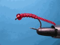 dly's Red Hot Worm: Trout & Steelhead Flies Streamers, & Nymphs