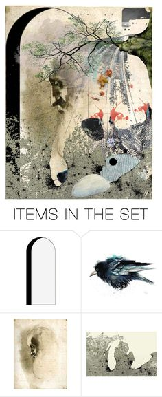 """dall'inizio alla fine - the COlor of the Death"" by stefania-federici ❤ liked on Polyvore featuring art"