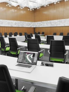 New Kusch Co has furnished the G tersloh Council Chamber with a state of
