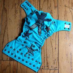 Intactivist Star Cloth Diaper by Honeybuns