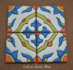 Galletas azulejo