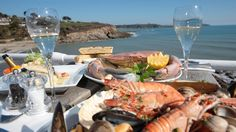 Indaba Fish on the Beach #Restaurants #Falmouth via Eat Out Cornwall