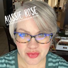Aussie Rose LipSense by SeneGence is a cool color. You can view it on people, look at combos or comparisons or even in a collage.  However, nothing rivals seeing it on a real person.  Click to purchase yours NOW!  #lipsense #senegence