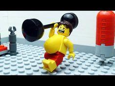 Lego Gym Fail - Beach Body Building - So Funny Epic Fails Pictures Gym Fail, Epic Fail Pictures, Summer Body, Legoland, Stop Motion, Beachbody, Hello Everyone, Minions, Fails