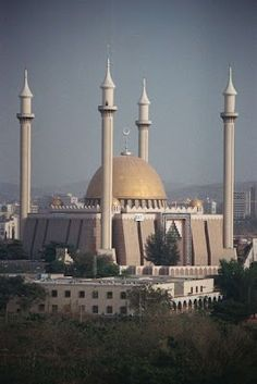 A mosque in Abuja, the capital city of Nigeria  Visit www.chronos-studeos.com/blog to enjoy architecture features, tips and tricks, and commissioned 3D visualizations by the Chronos Studeos company of architects and CG artists