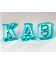 Kappa Alpha Theta Greek Letter Cookie Cutters sassysorority.com