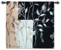 Created with cotton or blended yarns on Jacquard looms by skilled artisans...African Leaf Abstract