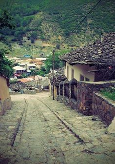 Kandelus village in Mazandaran