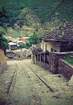 Kandelus village in Mazandaran
