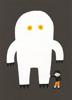やっちまいな(2016.03/297*410mm)O/P Art And Illustration, Character Illustration, Simple Cartoon, Origami Art, Cartoon Design, Boy Art, Doodle Art, Print Patterns, Character Design
