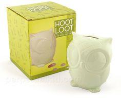 Owl Hoot Loot Bank $15.99