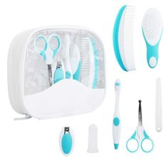 Health & Grooming Baby King Three Piece Manicure Set Round End Scissors Clipper And File For Baby Elegant And Sturdy Package Bathing & Grooming