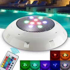 Cheap Price Piscine With Remote Control Rgb Submersible Light Swimming Pool Light Durable Led Bulb Underwater Crazy Price Led Underwater Lights Lights & Lighting
