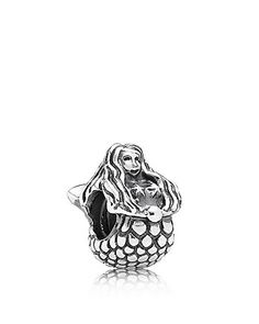 PANDORA Charm - Sterling Silver Mermaid | Bloomingdale's