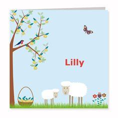 Geboortekaartje Lilly