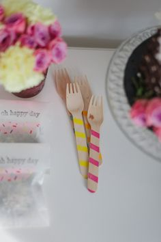 Party forks from the shop