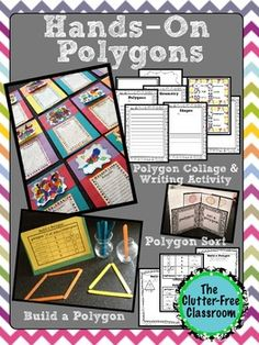 2D Geometry HANDS-ON POLYGONS 3.G.1, 2.G.1, 1.G.1, 1.G.2 Three common core aligned, hands-on centers/activities to teach shapes grades 1-4