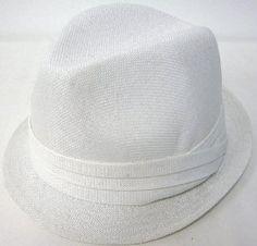 "New Stylish Plain Fedora Summer Sun Hat - Ivory, White by AMC. $9.99. 100% Brand New. L/XL 23.2"" (59cm). Style: Plain Fedora. Color: Ivory, White. S/M ¨C21.4"" (57cm). Description:Style: Plain FedoraColor: Ivory, WhiteS/M ¨C21.4"" (57cm) L/XL 23.2"" (59cm)100% Brand New"