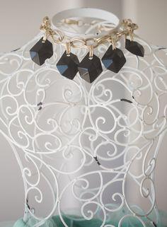 Chunky Black Necklace