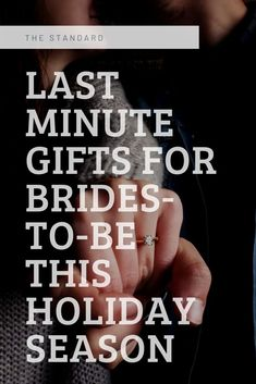 """Others are easier to shop for, but what about that special lady in your life who just got engaged?! She clearly is already getting everything she could ever need off her registry, but what about those special """"just because"""" gifts for the holidays. That's where we come in. We have compiled a list of gifts for every type of Bride. Keep on reading to see what we have chosen and a few of our favorite shops around here in Rockford, IL!"""