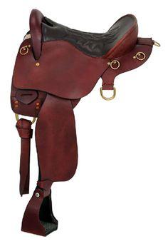 Saddles Tack Horse Supplies - ChickSaddlery.com King Series Trekker Endurance Trail Saddle