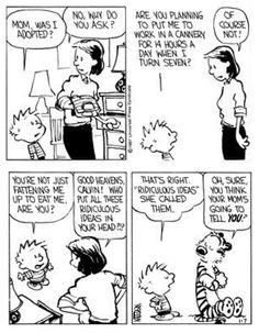 Calvin is Hansel? Calvin And Hobbes Quotes, Calvin And Hobbes Comics, Comics Illustration, Illustrations, My Calvins, Good Buddy, Boys Like, Fun Comics, Humor