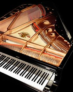 Gorgeous view of this 7 foot grand piano! http://pinterest.com/cameronpiano