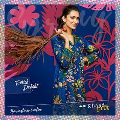 Khaadi Turkish Kurta Collection 2017 for Summer http://www.fashioncluba.com/2017/02/khaadi-turkish-summer-women-kurta-dress-collection.html