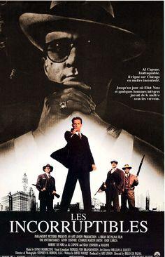 """Les Incorruptibles"" (The Intouchables), film de Brian de Palma avec Robert De Niro, Kevin Costner, Sean Connery et Andy Garcia."