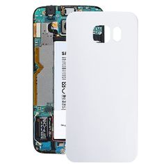 [$1.07] iPartsBuy for Samsung Galaxy S6 Edge / G925 Battery Back Cover(White)
