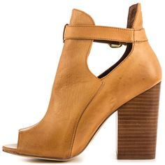 stacked heel is fine too