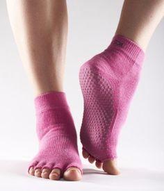 ToeSox Grip Pilates Barre Socks – Non Slip Ankle Half Toe for Yoga & Ballet Pilates Socks, Barre Socks, Pilates Barre, Yoga Socks, Pilates Studio, Pilates Reformer, Yoga Pants, Pilates Equipment, Training Equipment