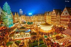 Feria de navidad en Frankfurt