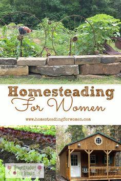 Homesteading for women welcome | Gardening, Rustic Decor, Herb Gardening, herbal remedies, crafts